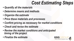 New Video – Cost Estimating Services